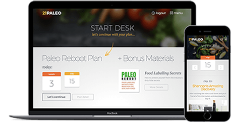 Digital streaming and Online Access - Paleo Reboot